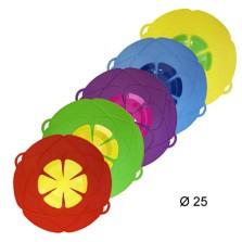 7725 КВ Крышка силиконовая «Невыкипайка» (диаметр 25,5 см.)