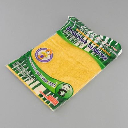 0044 Волшебная салфетка из бамбука 18х23см