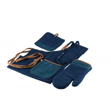 2709 GIPFEL Комплект кухонного текстиля из 3 предметов (фартук, рукавица, прихватка).
